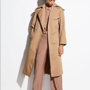 Vince Cotton Trenchcoat